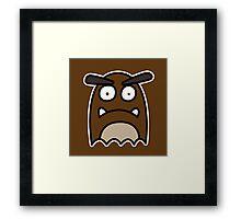 Goomba Ghost Framed Print