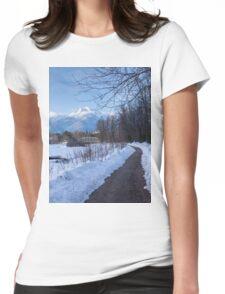 Begbie MT  Revelstoke BC Womens Fitted T-Shirt