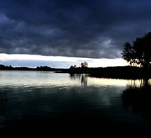 Light in the Lake Galve by Antanas