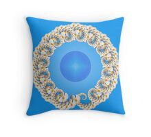 Floral Ring #1 Throw Pillow