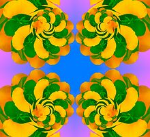 Flower Kaleidoscope  by Barry L White