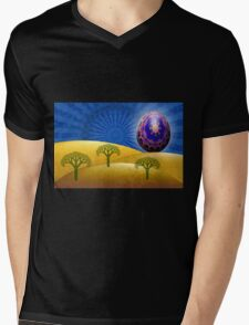 Inner Child - On Top of the World Mens V-Neck T-Shirt