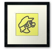 Pac-Bro. (b) Framed Print