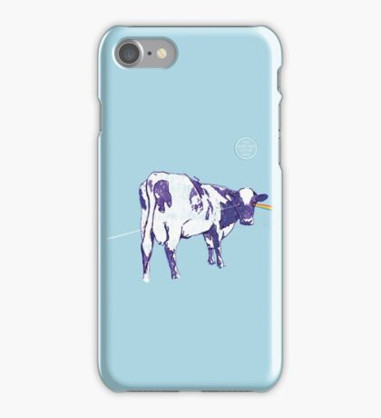 The Dark Side Of The Moo iPhone Case/Skin