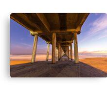 Huntington Beach Pier 3 Canvas Print