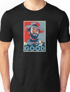 "Clint Eastwood ""Hope"" Poster Unisex T-Shirt"