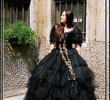 Venetian Rennaissance Carneval Dress by Zeanana