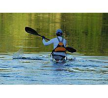 Lone Kayak Photographic Print