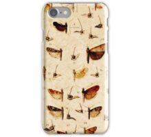25 Moths iPhone Case/Skin