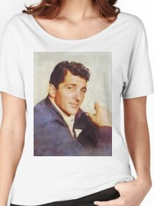 Dean Martin, Vintage Hollywood Legend Women's Relaxed Fit T-Shirt