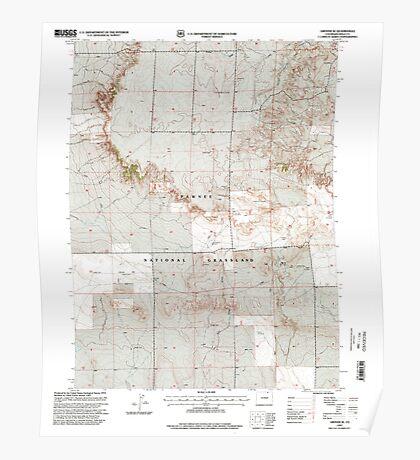 USGS TOPO Map Colorado CO Grover SE 233180 1997 24000 Poster