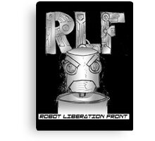Robot Liberation Front Canvas Print