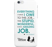 The Office Finale -- Jim iPhone Case/Skin