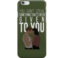 Outlaw Queen iPhone Case/Skin