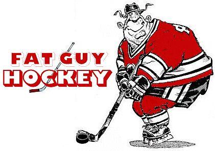 Fat Guy Hockey by saveonpcs