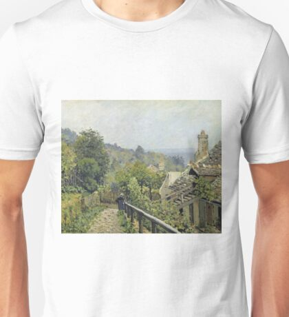 Alfred Sisley - Louveciennes Or, The Heights At Marly Unisex T-Shirt