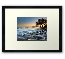 Ebb & Flow Framed Print