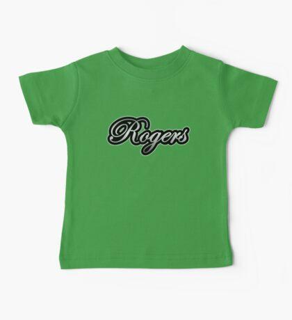 Rogers Drums Vintage Silver Baby Tee