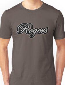 Rogers Drums Vintage Silver Unisex T-Shirt