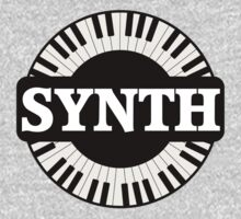 Synth Keyboard One Piece - Short Sleeve