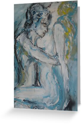 Lovers  by Anthea  Slade