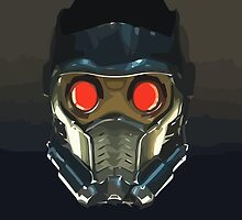 Face of a Star Lord by Connor Keane