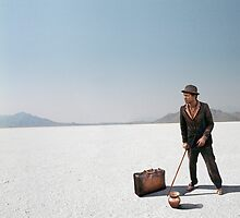 Copperman - Salt Flats, Utah by javidano