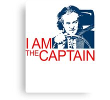 I Am the Captain Canvas Print