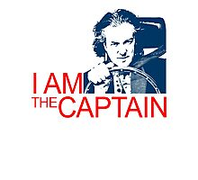 I Am the Captain Photographic Print