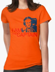 I Am the Captain Womens Fitted T-Shirt
