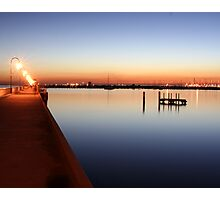 St.Kilda Pier Sunset Photographic Print