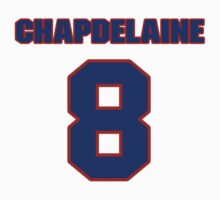 National Hockey player Rene Chapdelaine jersey 8 by imsport