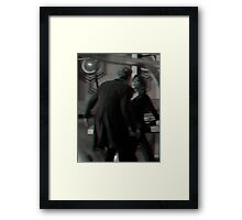 Clara & Twelve Framed Print