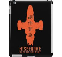Misbehave Outlaw Cologne iPad Case/Skin