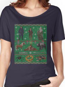 Hobbit Christmas Sweater Women's Relaxed Fit T-Shirt