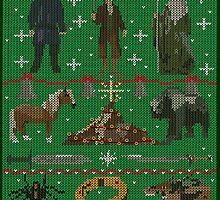 Hobbit Christmas Sweater by LeslieHarris