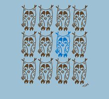 Owls hoot Womens Fitted T-Shirt