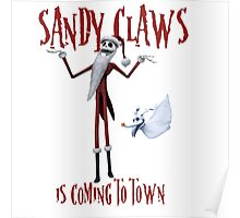 Sandy Claws Poster