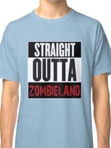 Straight Outta Zombieland Classic T-Shirt