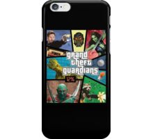 Grand Theft Guardians | Guardians of the Galaxy iPhone Case/Skin