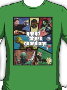 Grand Theft Guardians | Guardians of the Galaxy T-Shirt
