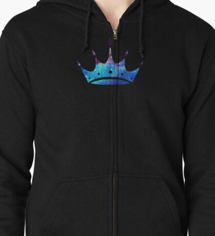 Zeta Tau Alpha Crown Zipped Hoodie