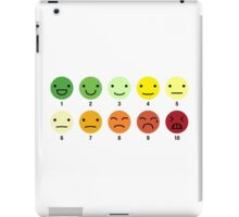ON A SCALE OF 1 TO 10 iPad Case/Skin