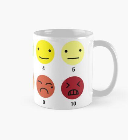 ON A SCALE OF 1 TO 10 Mug