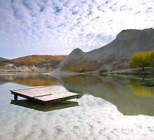St Bathans reflections  by Stephanie Johnson