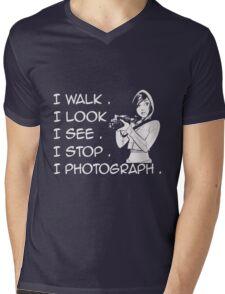 Camera I Photograph Mens V-Neck T-Shirt