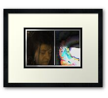 The Person Within or Flipside Framed Print