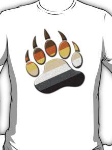 Gay Bear Pride Paw  T-Shirt