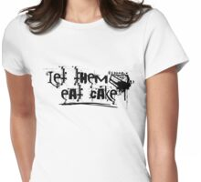 let them eat cake Womens Fitted T-Shirt