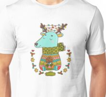 Winter deer Unisex T-Shirt